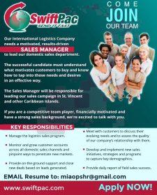 Sales Manager St. Vincent