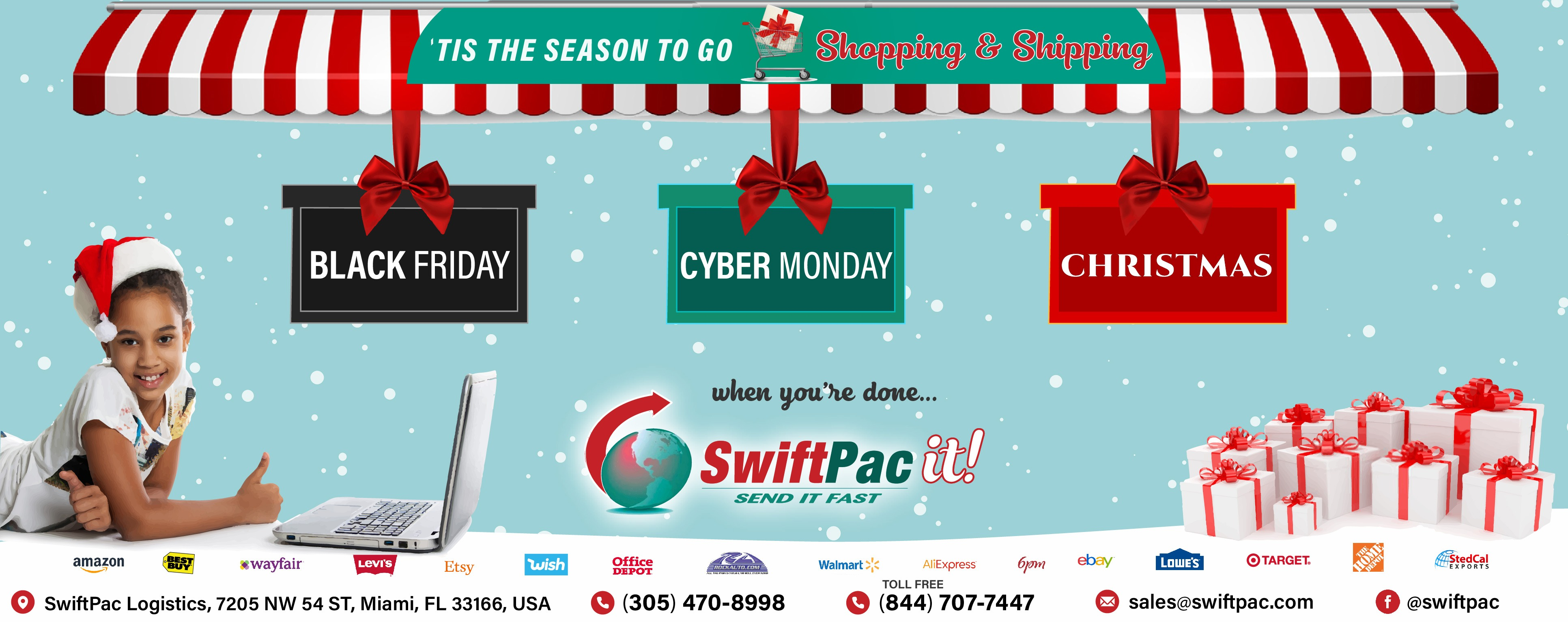 Shop Ship SwiftPac